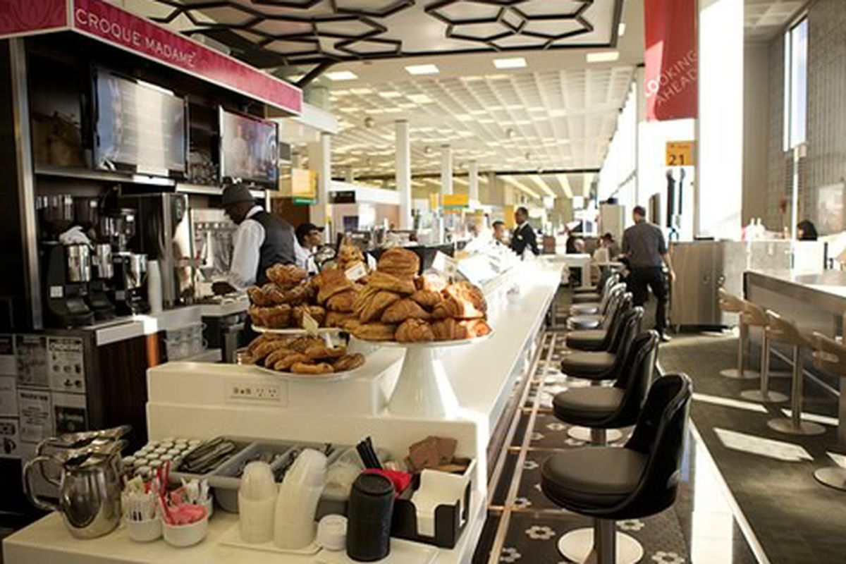 Croque Madame Opens at JFK Airport, NYC.