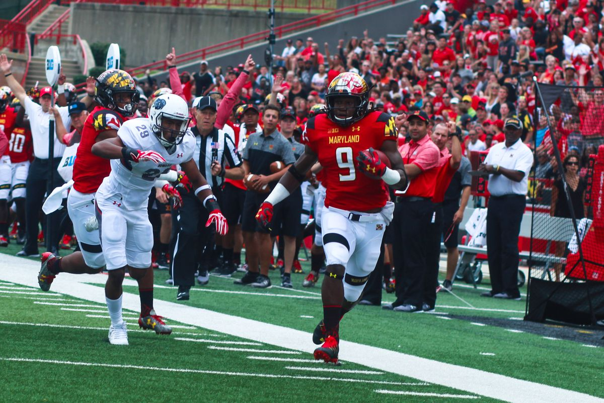 Scenes from Maryland football's blowout win over Howard