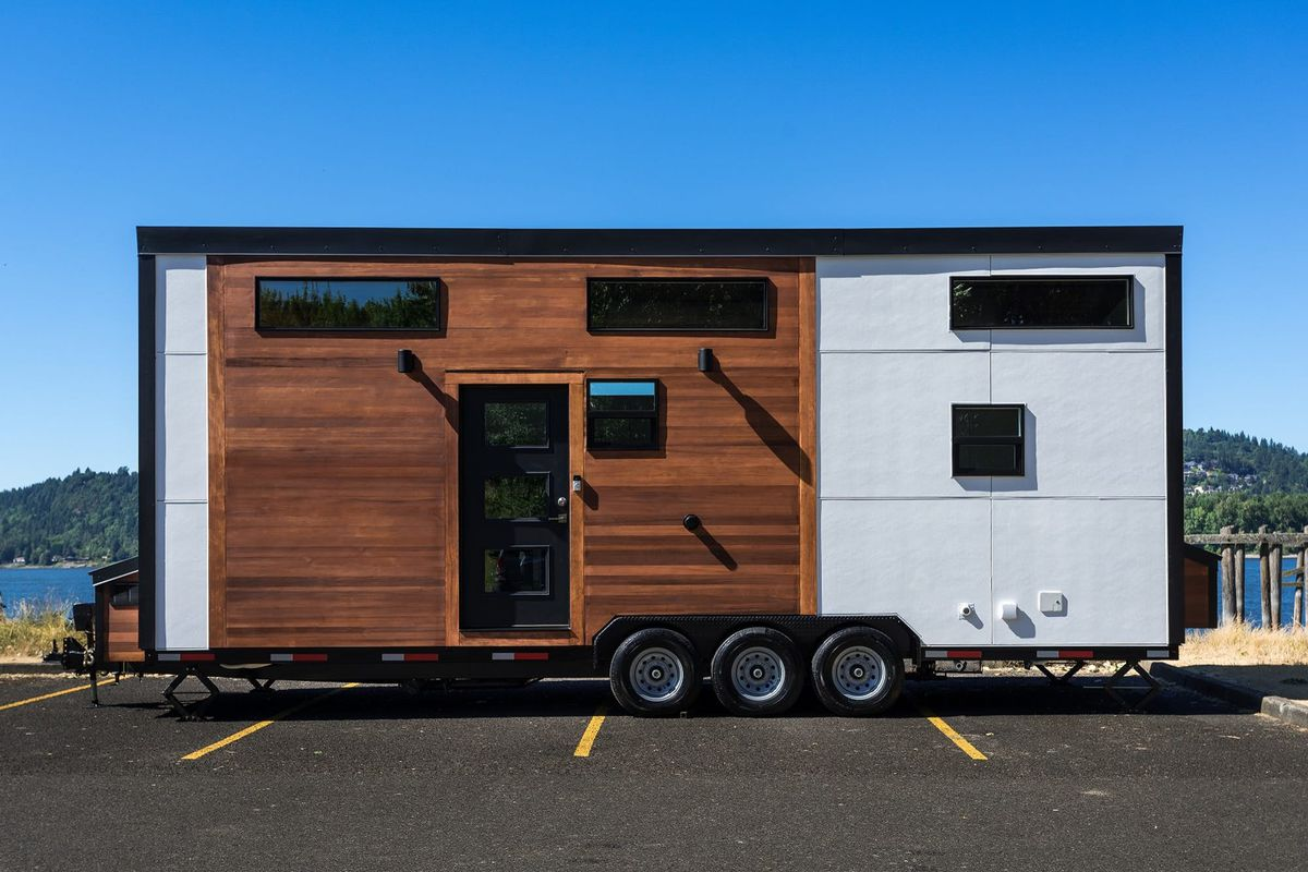 New tiny house features contemporary design details Curbed