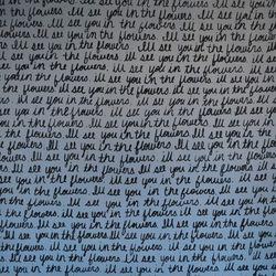 More handwritten artwork on the walls of Eat.