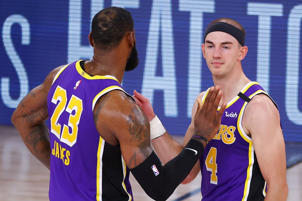 LeBron says he and Lakers are confident going into NBA finals