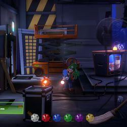 Luigi's Mansion 3 8F blue gem location