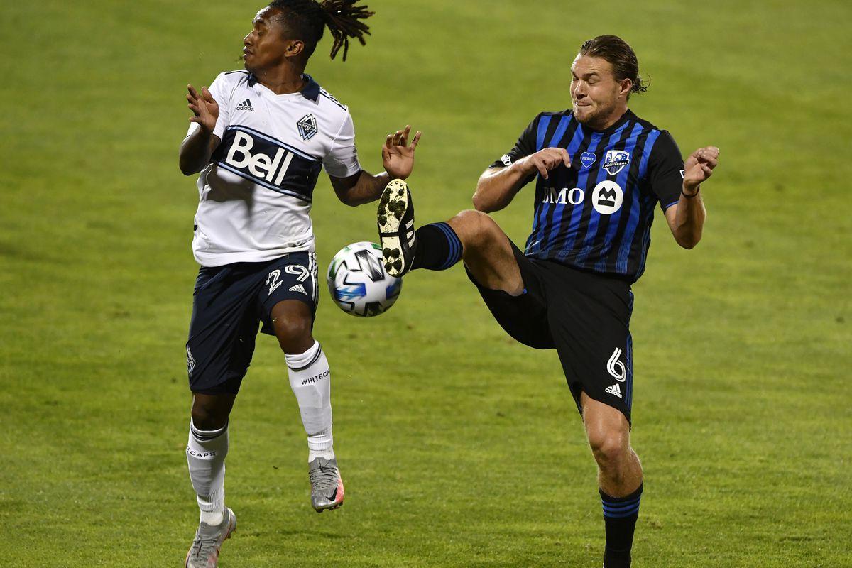 MLS: Vancouver Whitecaps FC at Montreal Impact