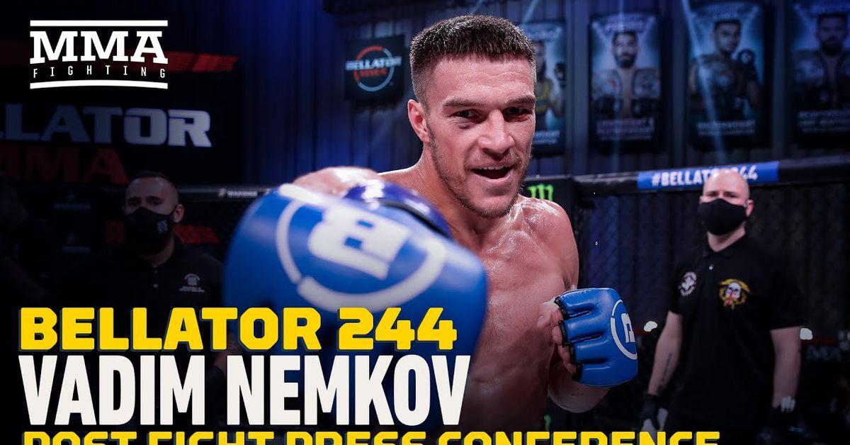 Video: Vadim Nemkov expects winner of Phil Davis vs. Lyoto Machida 2 for first title defense