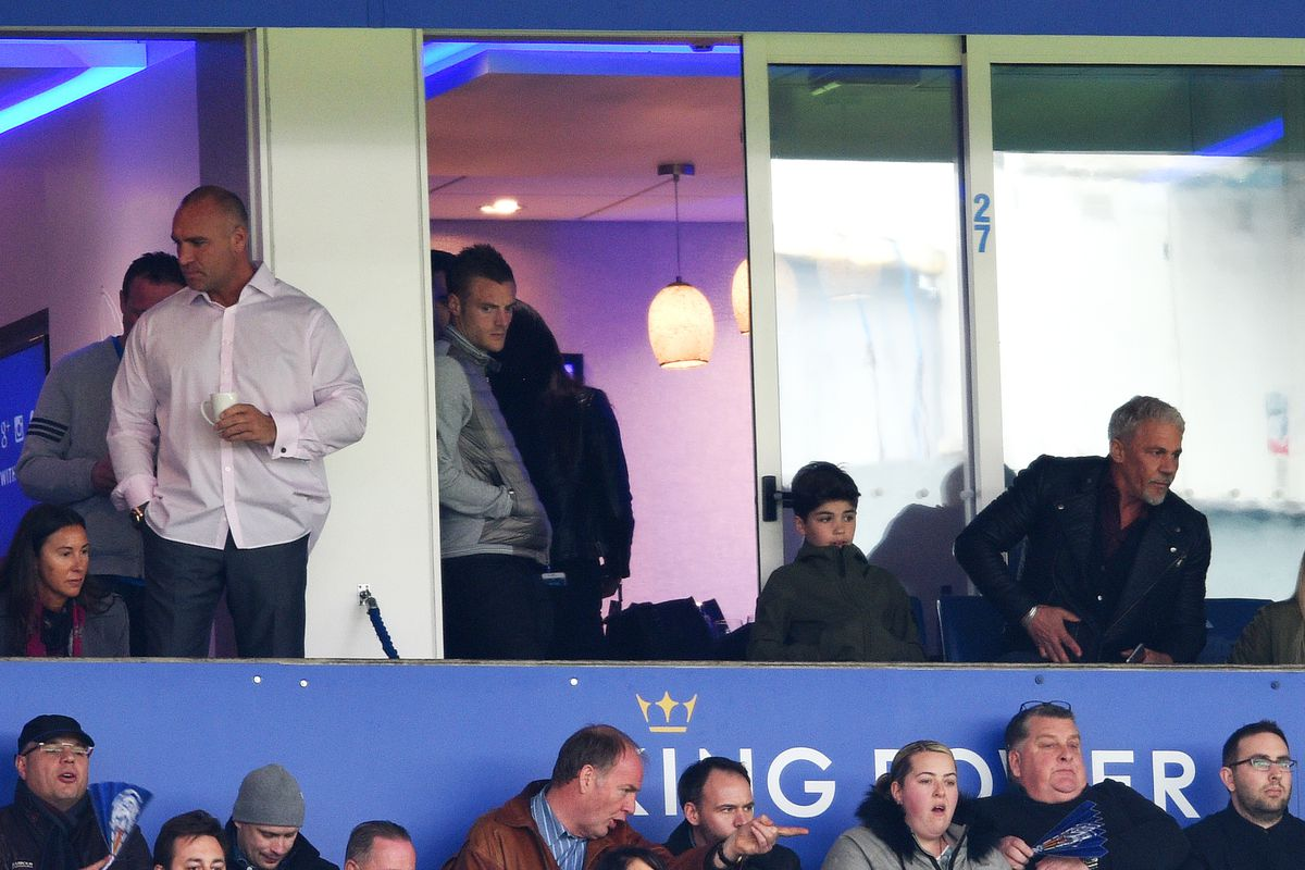Will Jamie Vardy watch his team win the Premier League from the stands?
