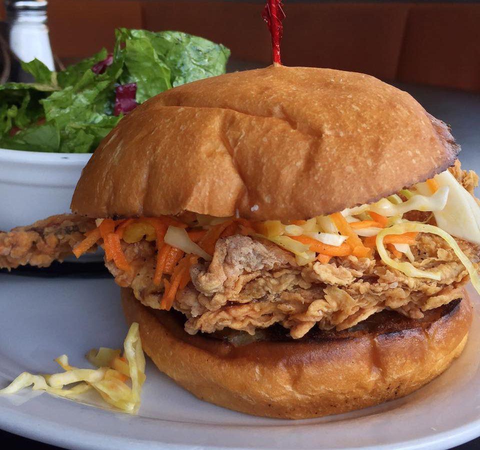 24 Diner's fried chicken sandwich