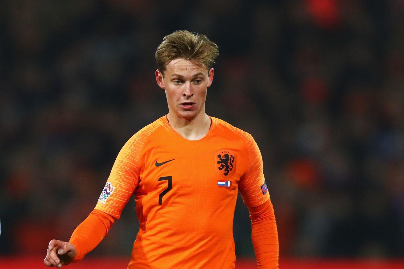 De Jong fancies the No. 21 shirt at Barcelona