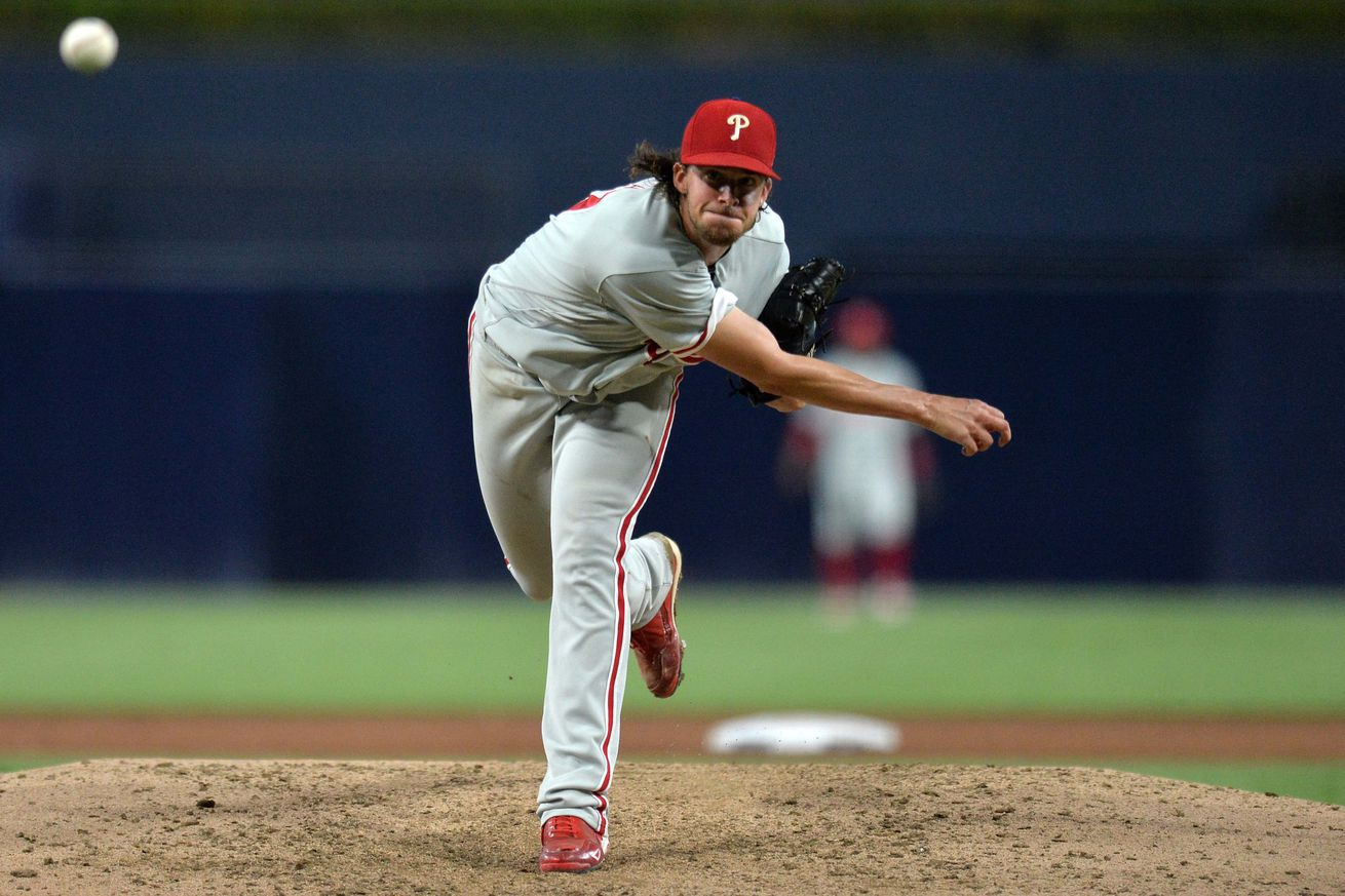 Aaron Nola wasn't sharp, but he didn't allow a run either