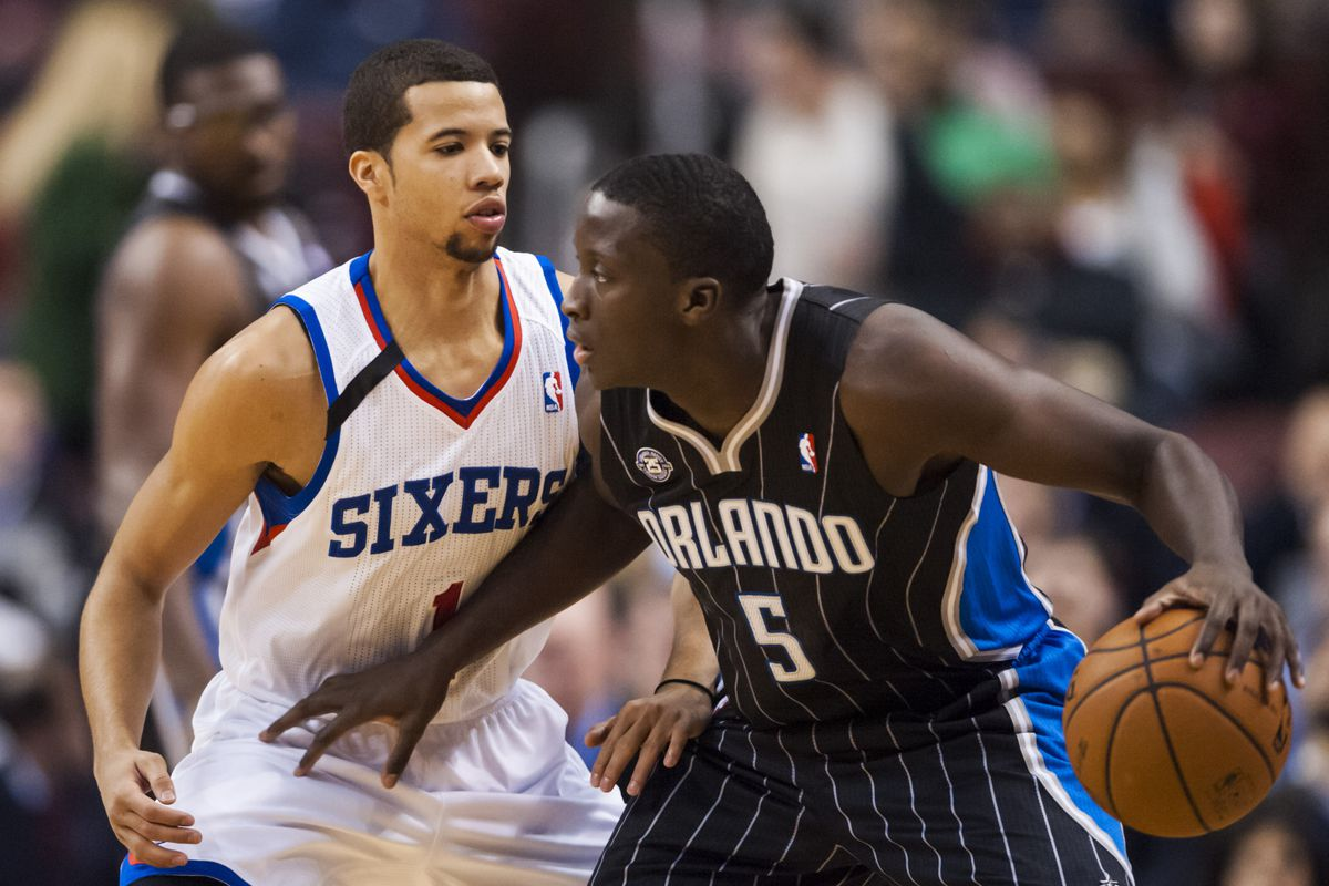 Michael Carter-Williams and Victor Oladipo