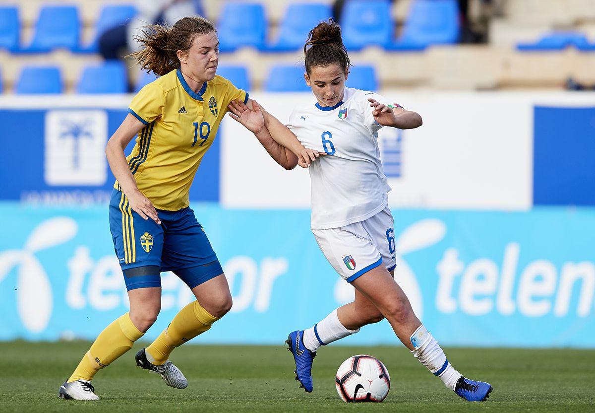 Sweden v Italy - Women's U23 International Friendly