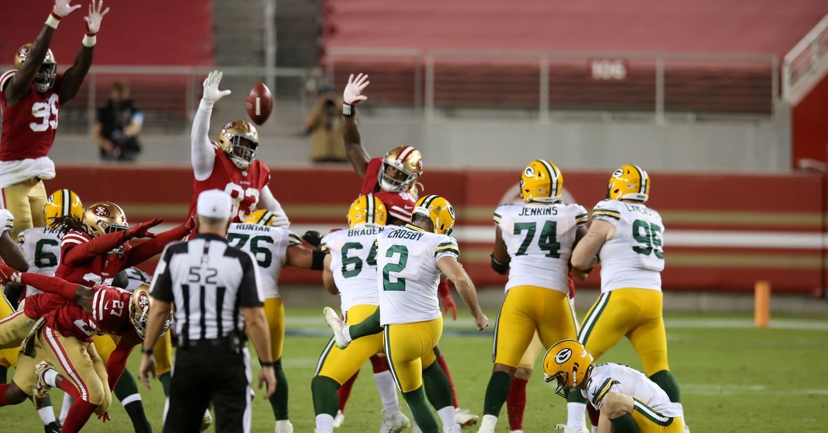 49ers comeback attempt falls short as the Packers win 30-28