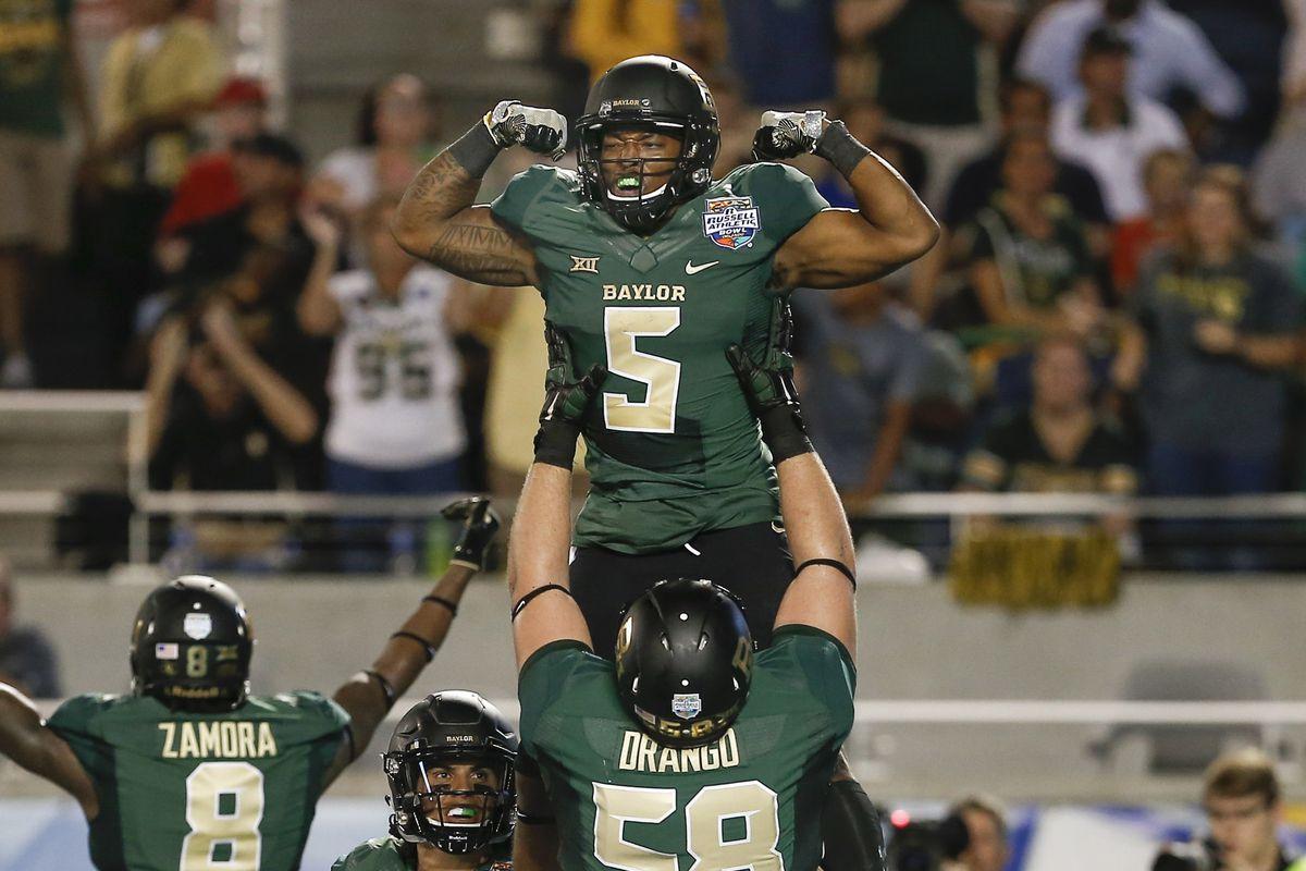 NCAA Football: Russell Athletic Bowl-North Carolina vs Baylor