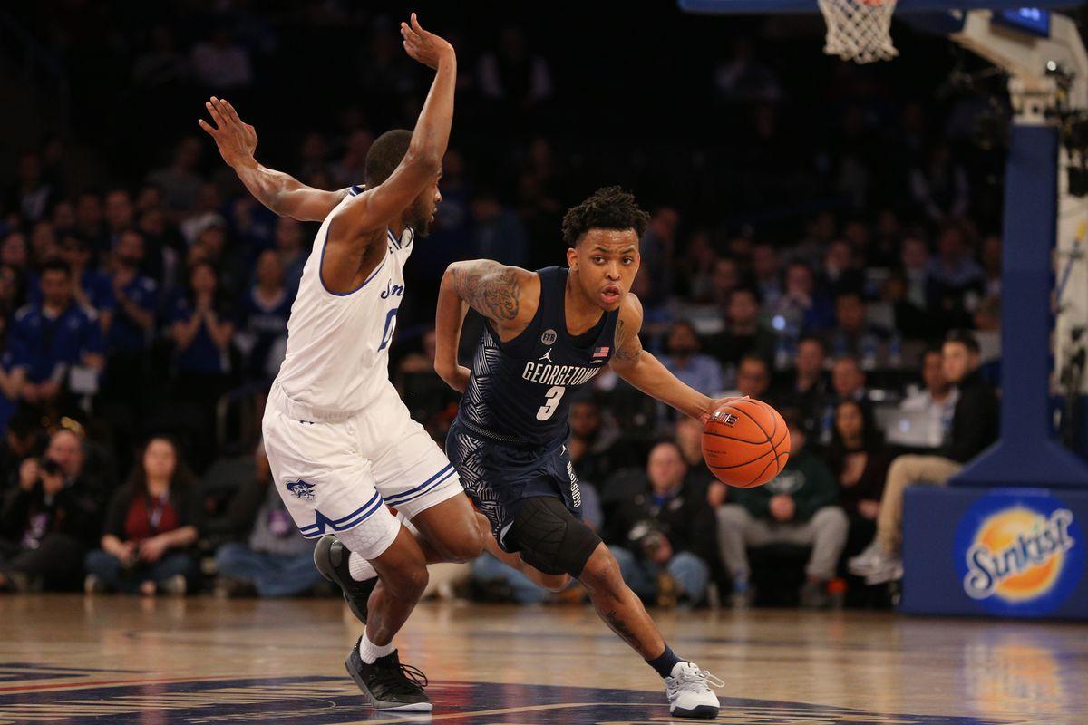 NCAA Basketball: Big East Tournament-Georgetown vs Seton Hall