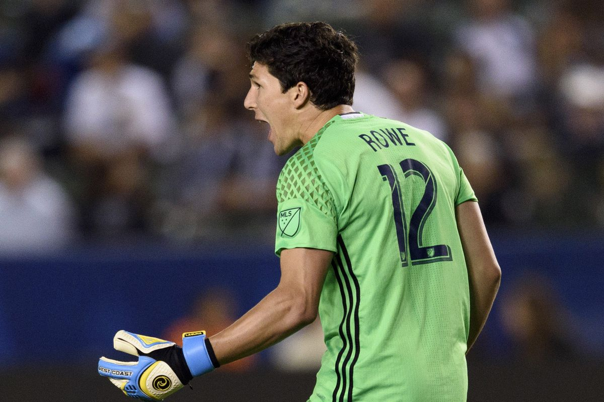 Brian Rowe had a strong performance in earning the shut-out