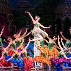 """The """"Waltz of the Flowers"""" in Ballet West's updated """"The Nutcracker,"""" which runs at Capitol Theatre through Dec. 30."""