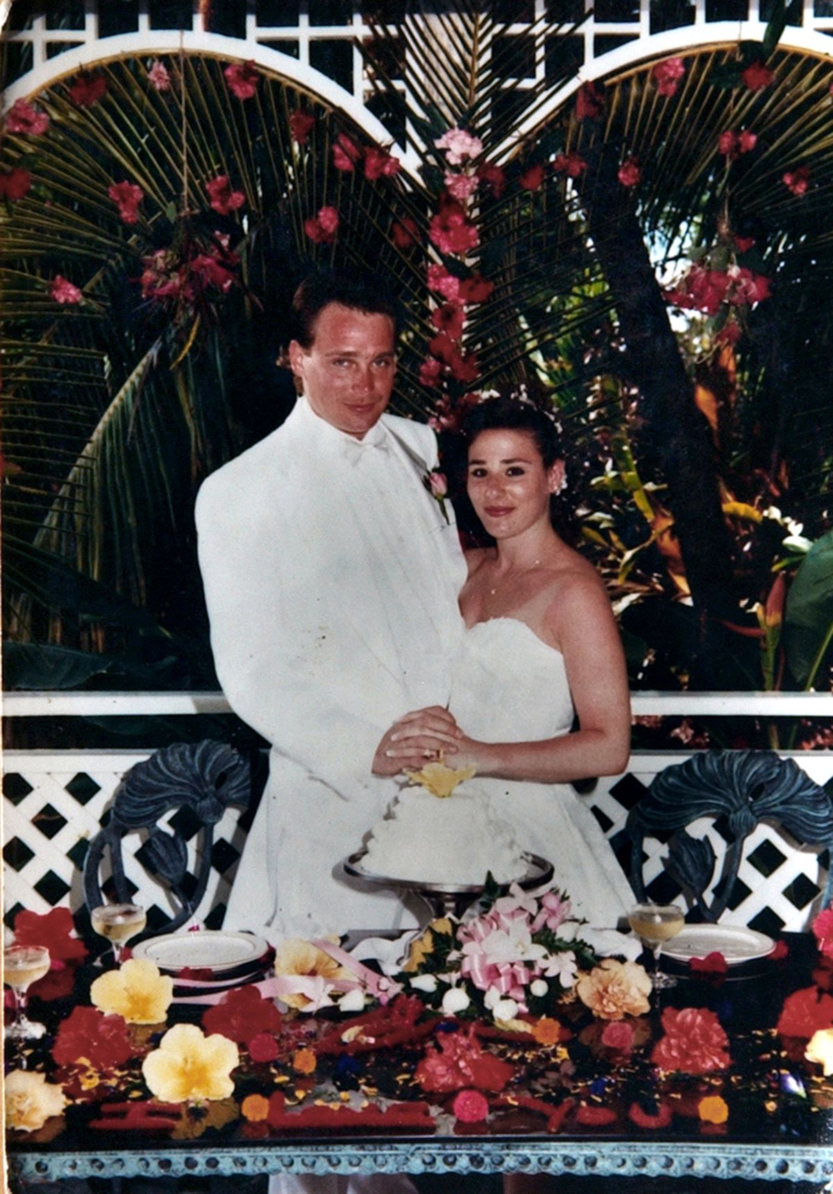 Craig and Lisa Stebic's wedding photo on April 6, 1993. | Photo provided by Craig Stebic in 2007