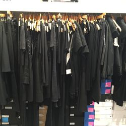 So much black (and shoes!), a New Yorker's dream