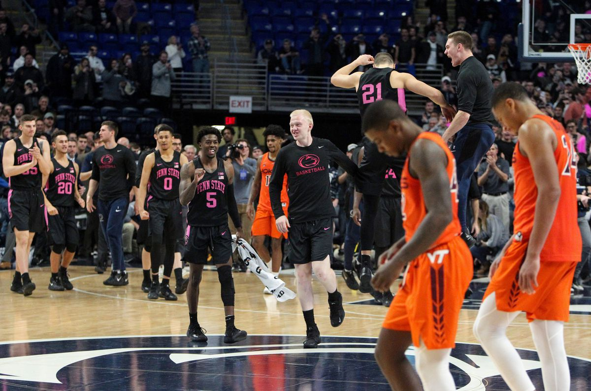 NCAA Basketball: Virginia Tech at Penn State