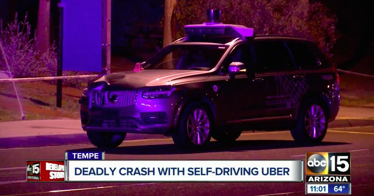 uber  driving car  pedestrian  didnt brake  fatal crash feds   verge