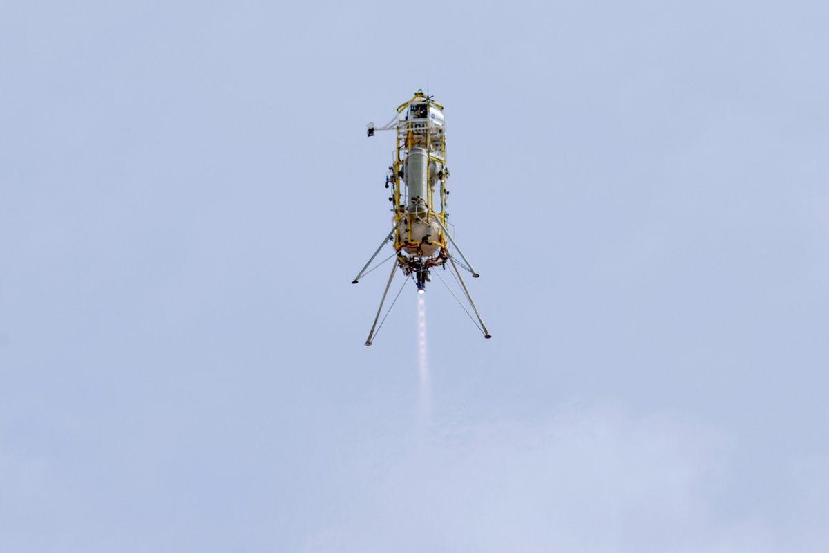 Masten Xombie rocket