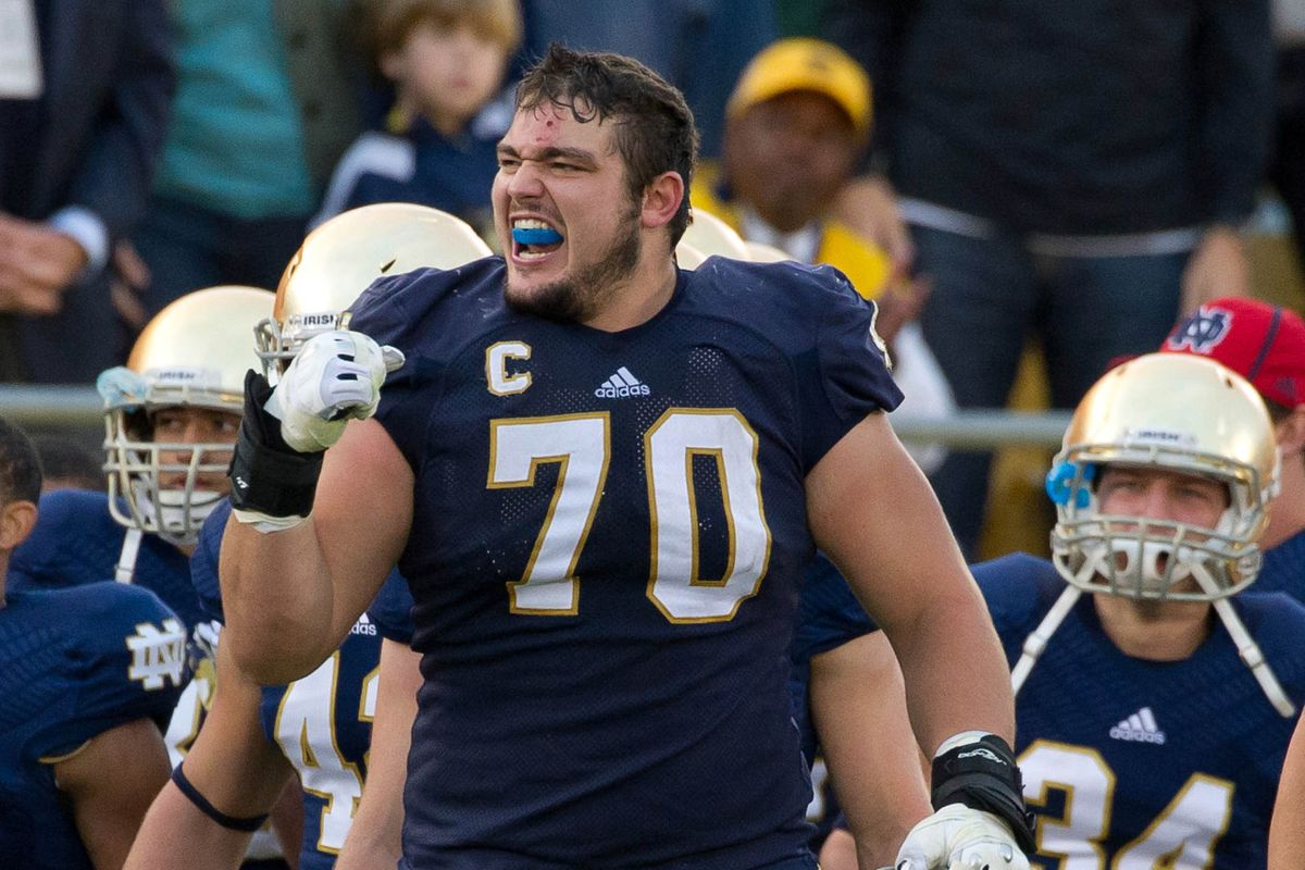 Zack Martin is one of many potential prospects the Ravens could draft at 17th overall.