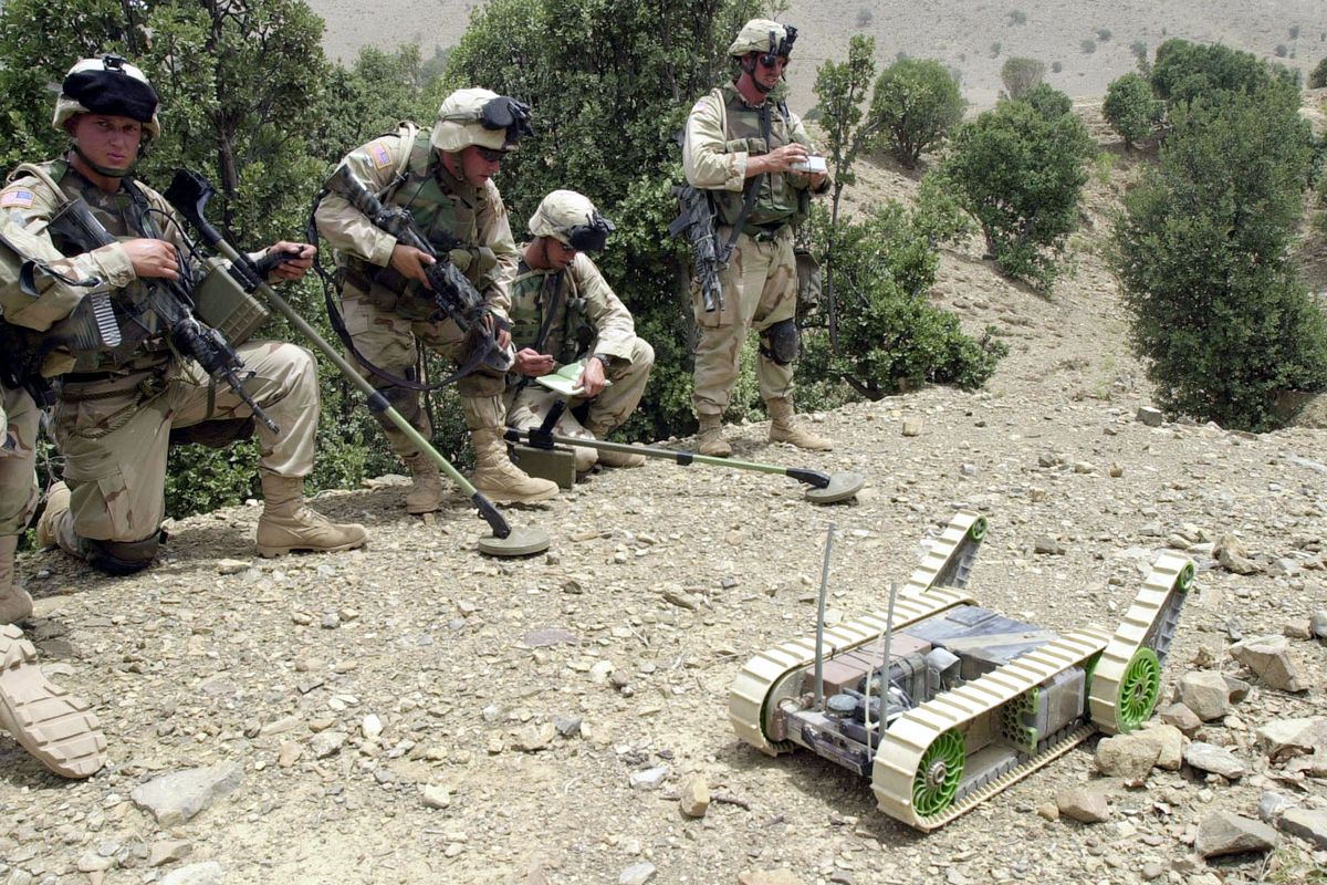 US Mititary Robot Mission