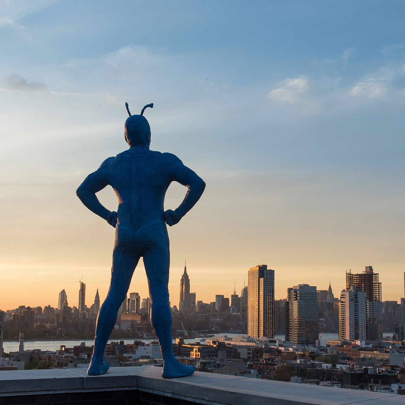 The Tick creator on taking his iconic funny superhero to a