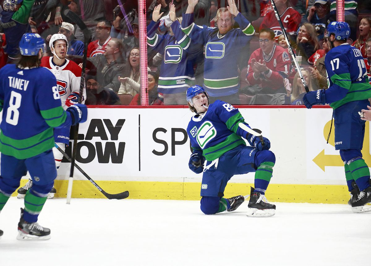 Montreal Canadiens v Vancouver Canucks