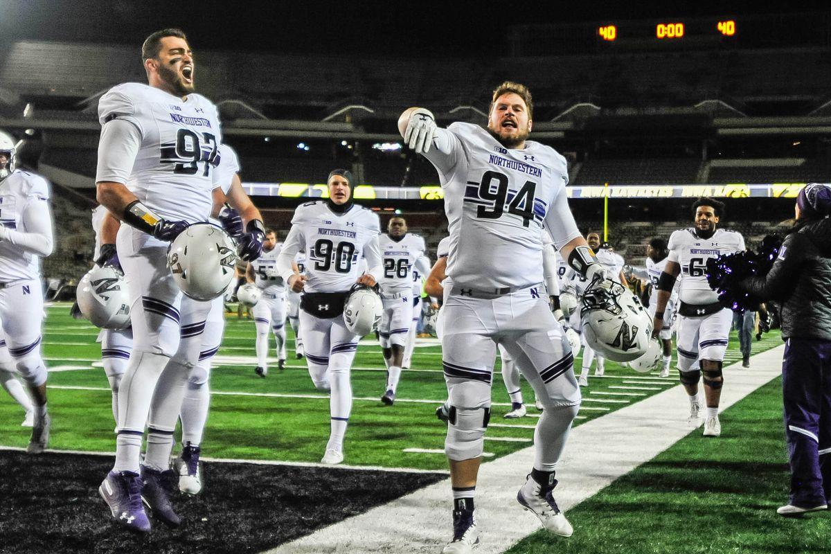 NCAA Football: Northwestern at Iowa