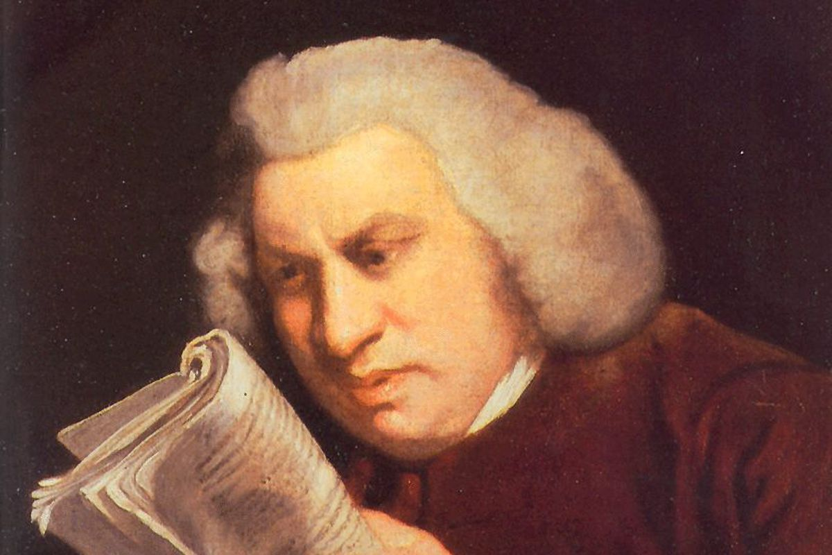 The meaning of Google's Samuel Johnson doodle