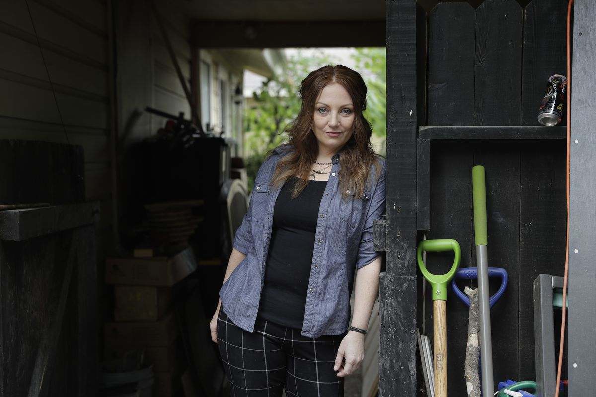 Dawn Erin at her home in Austin, Texas. Erin went to her first round of physical therapy Tuesday to treat painful bladder infections she's suffered for two decades. Her copay was $20 and her health plan covers the rest. Physical therapy might seem mundane