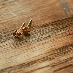 """Little studs, <a href=""""http://blancamonrosgomez.com/collections/earrings/products/little-studs"""">$285</a>"""