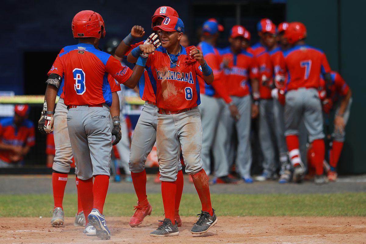 Dominican Republic v Australia - WBSC U-15 World Cup Group B