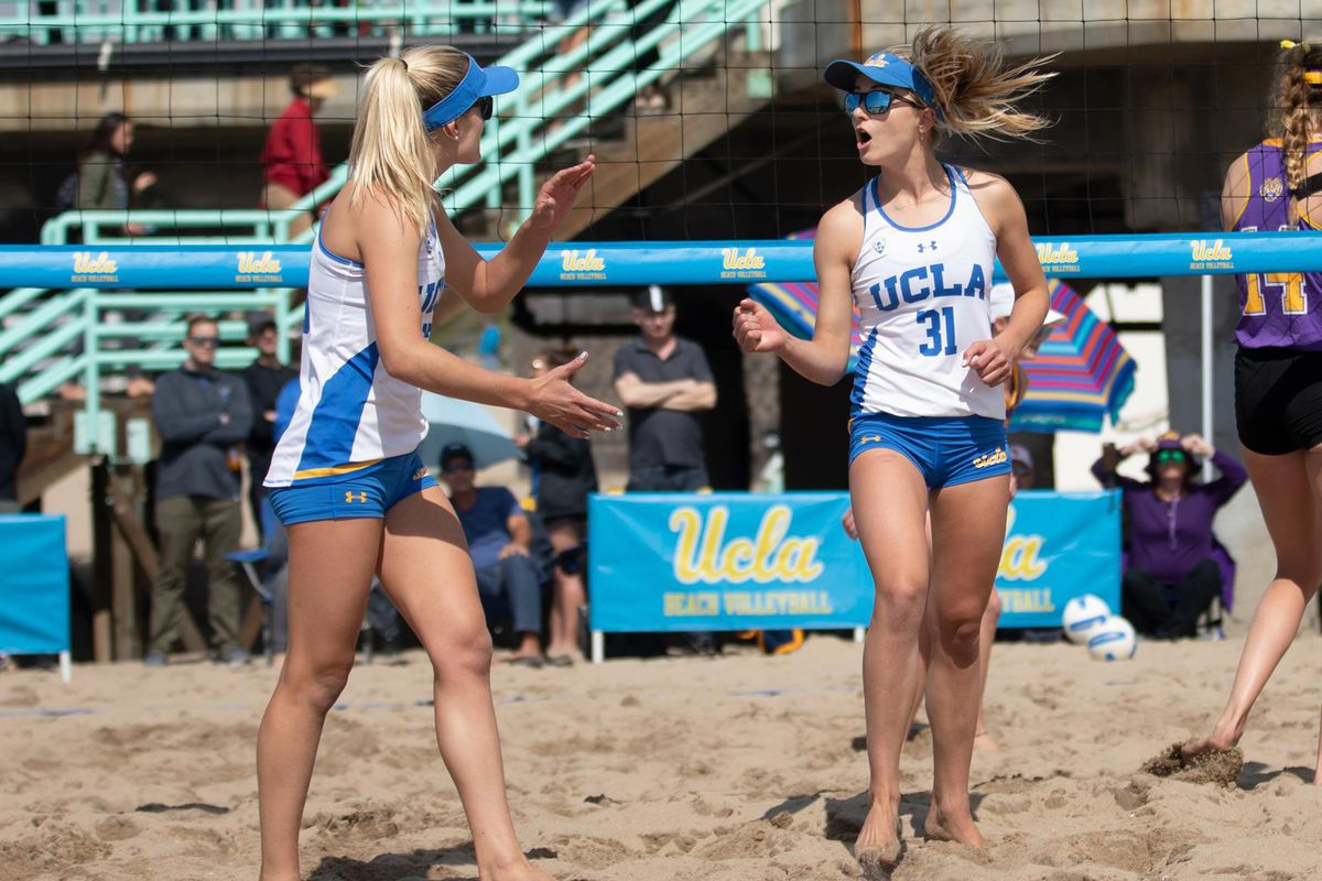 Ucla Beach Volleyball To Face Southern Cal For National Championship Bruins Nation