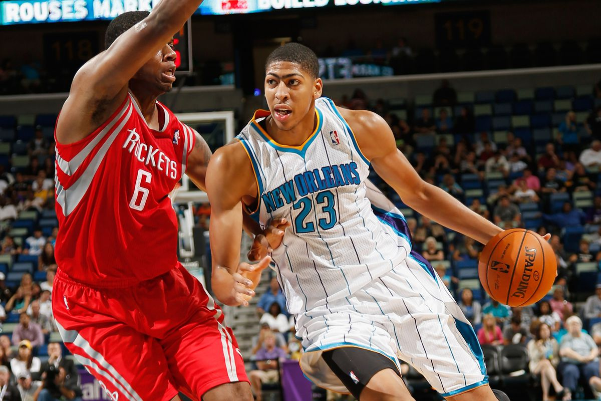 Terrence Jones outscored college teammate Anthony Davis on Wednesday.