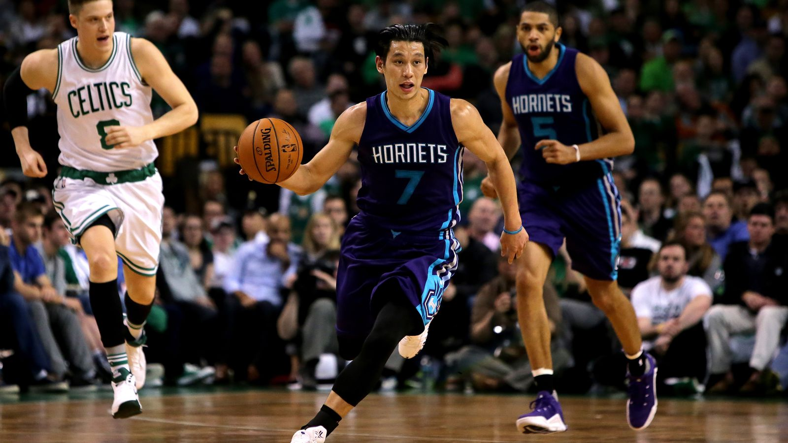 Jeremy Lin bolsters 6th Man of the year campaign as Hornets send Celtics reeling