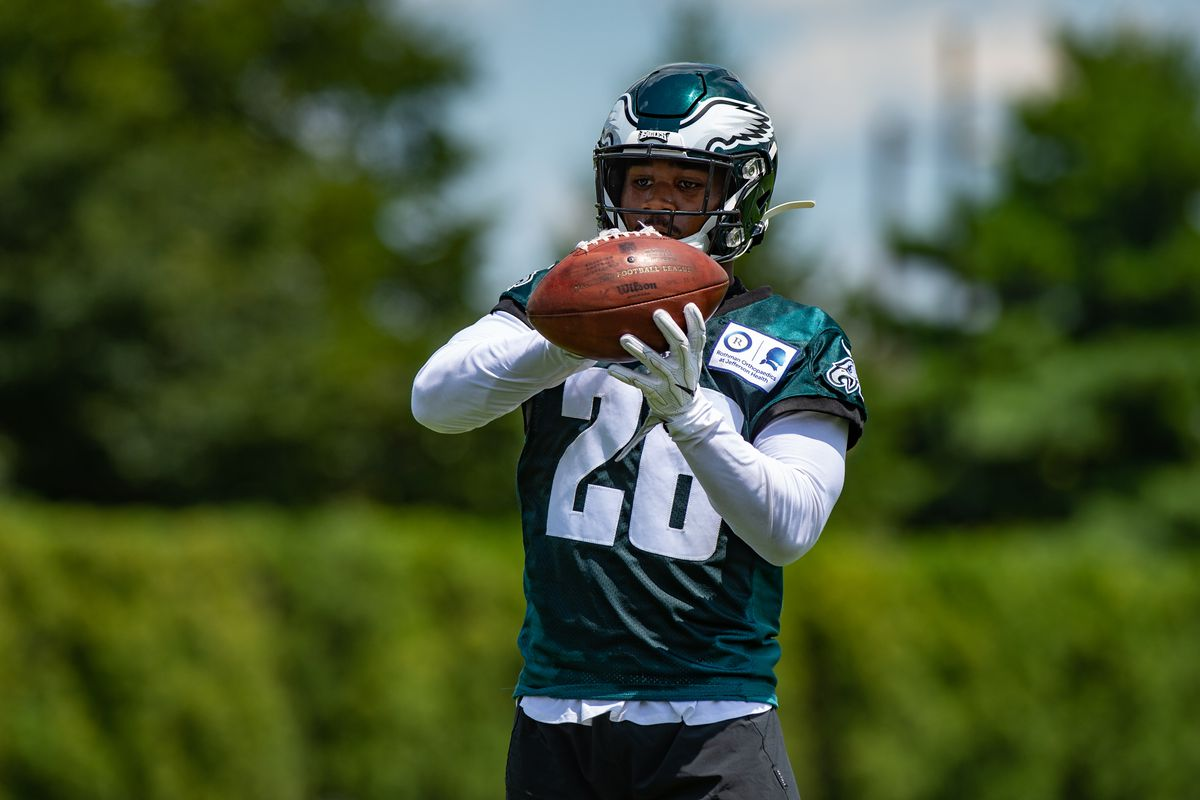 """new concept ab5ea c31b6 Eagles News: Miles Sanders is """"the best running back on the ..."""