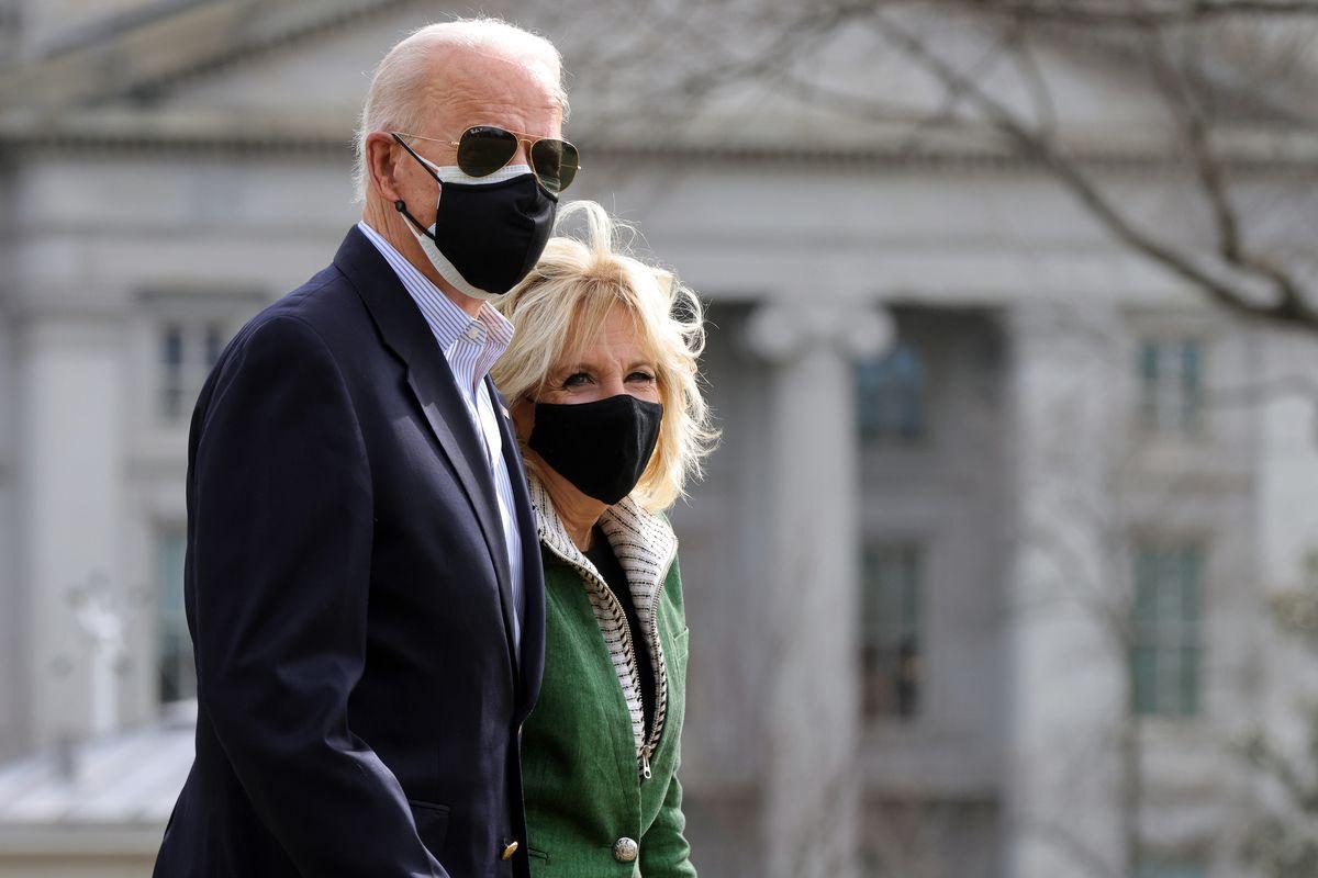 El presidente Joe Biden y su esposa la Dra. Jill Biden.