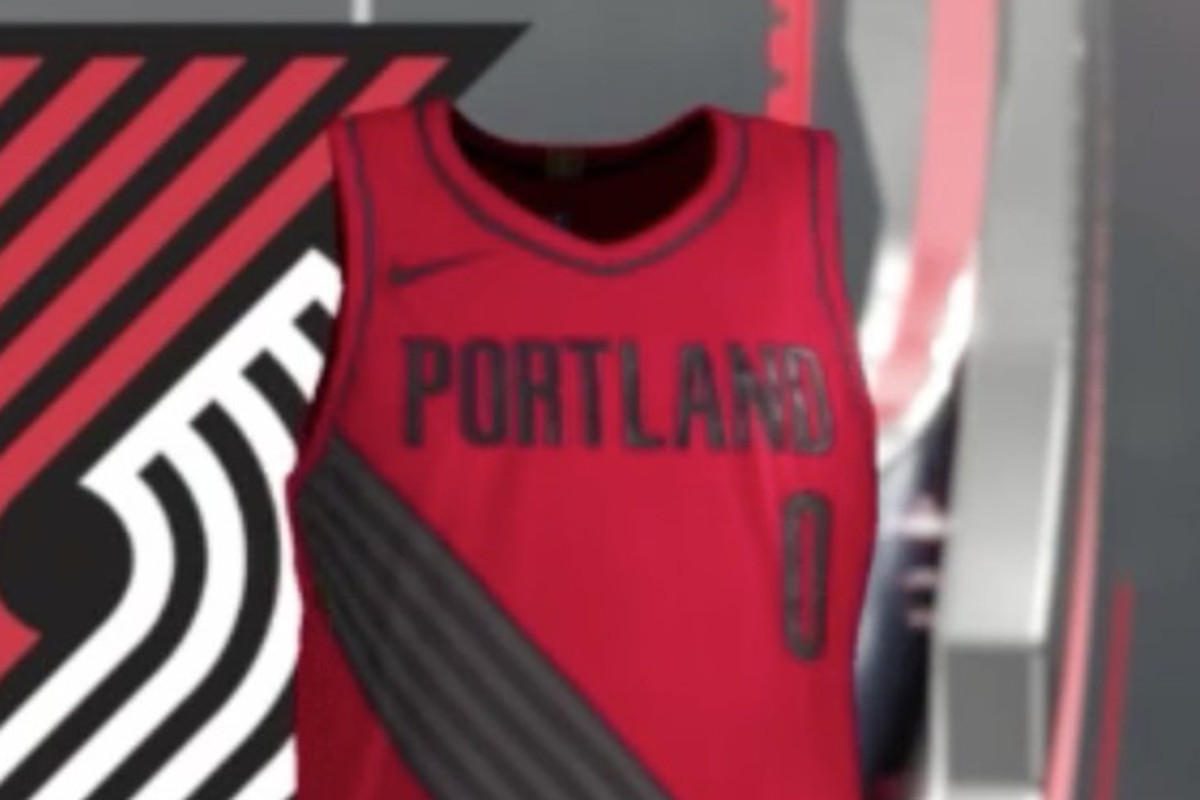 f42951d91 New NBA Jerseys for Trail Blazers Allegedly Leaked via NBA2k18 ...