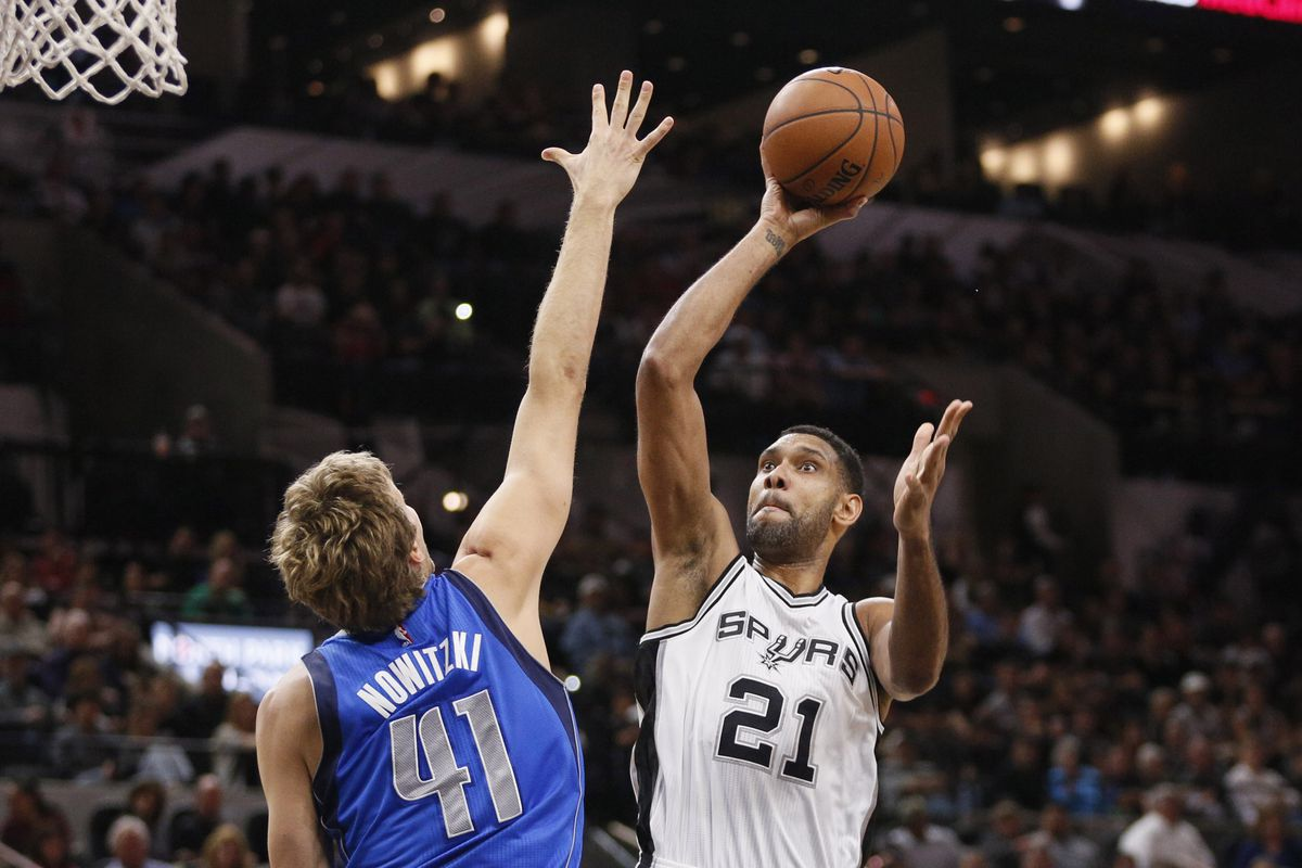 RIVALRY WEEK: It's time to put the Mavs/Spurs rivalry to bed