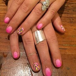 """Warhol Nails by <a href=""""http://instagram.com/jeanniev"""">Jeannie Vincent</a>"""