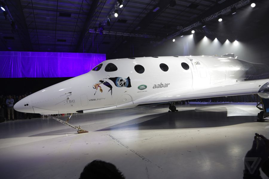 Virgin Galactic Unveils New Spaceshiptwo Vehicle That Will -1480