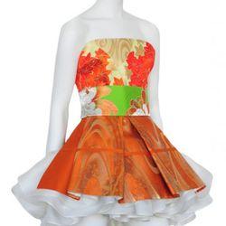 Katy Rodriguez lotus dress