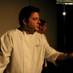 Evan Deluty of Stella, whose quattro funghi pizza took the cake.