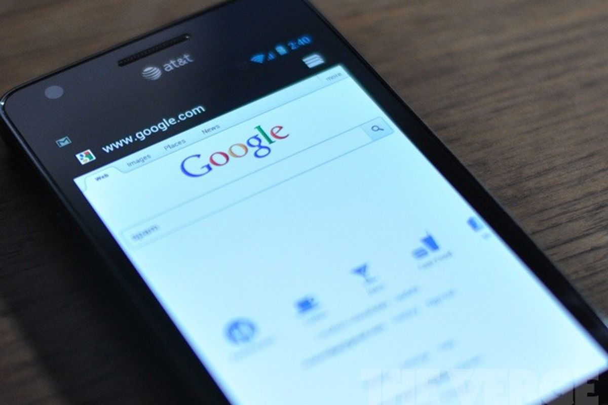 google android search