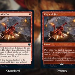Preview cards from the Weekly MTG show on Twitch.
