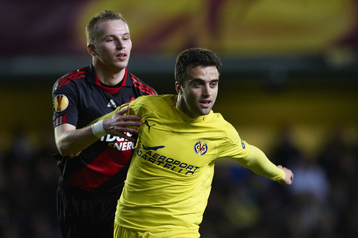 Giuseppe Rossi--Villarreal's all-time leading scorer.  He and the rest of the 2010-11 Yellow Submarine bid farewell to the Madrigal faithful tomorrow in the last home match of the season