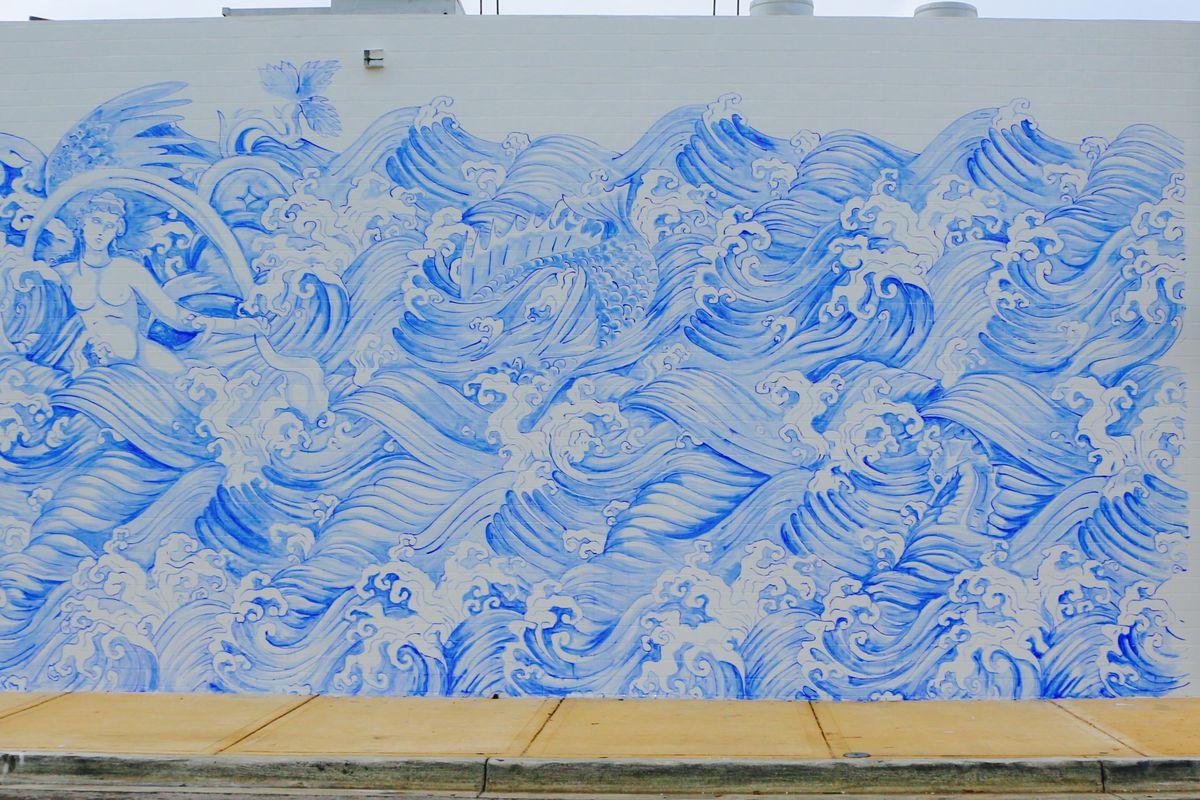 Mural at Kiki on the River