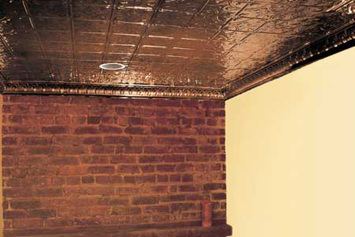 How To Hang A Tin Ceiling This Old House