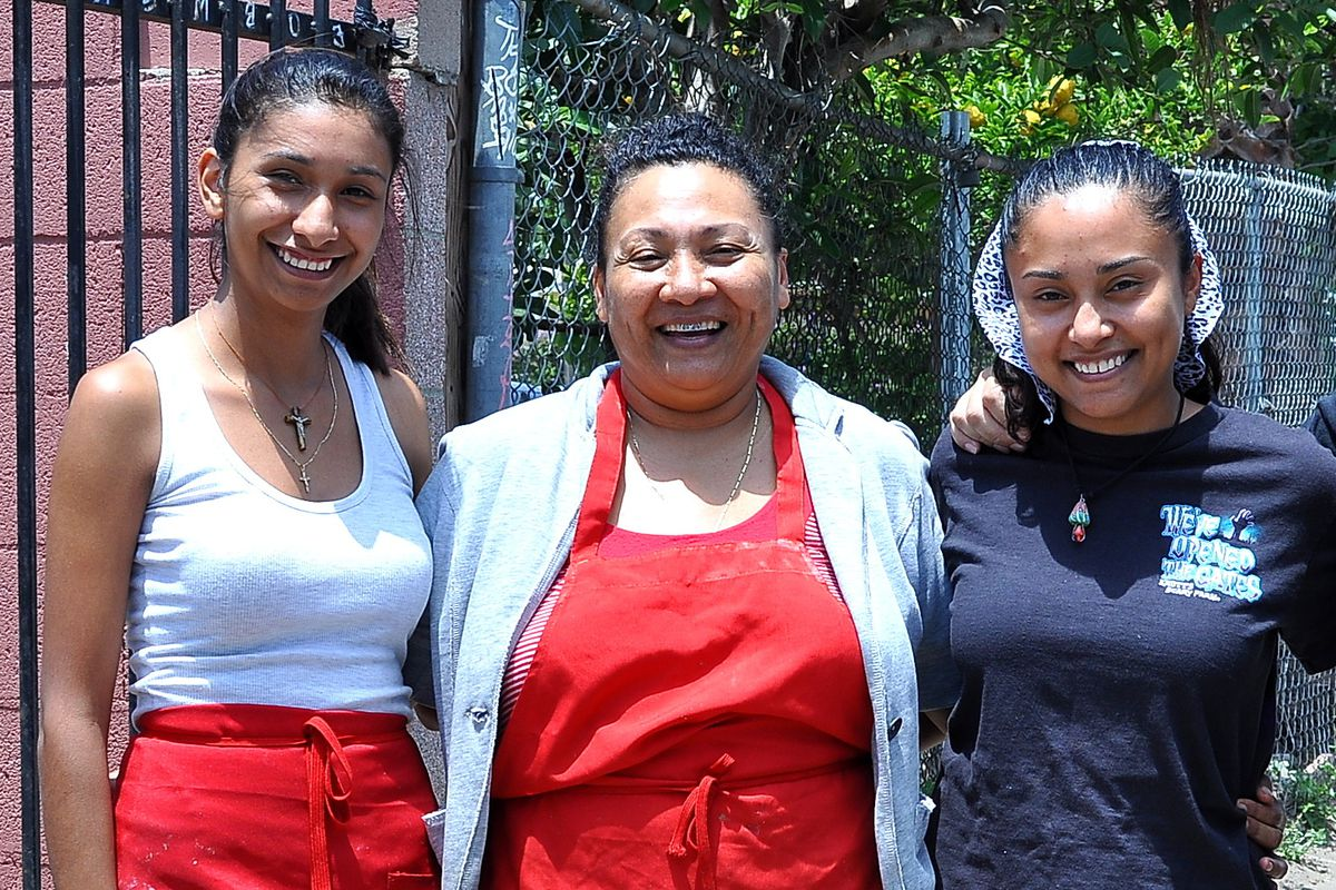 Maria Elena Lorenzo brings pozole, tamales, and other specialties from La Costa Chica to Bell Gardens.